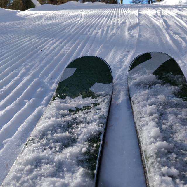 Ski à la station de Chaillol