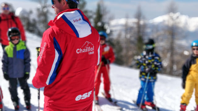 Cours de ski de l'ESF de Chaillol