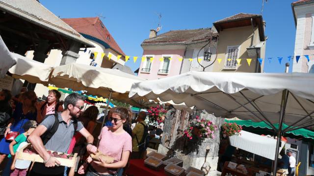 Marché à St Bonnet en Champsaur