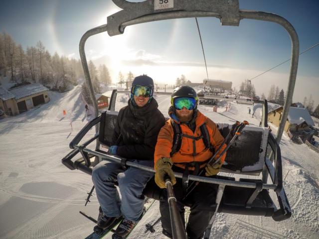 Ski entre amis à Chaillol