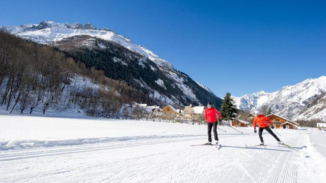 Ski De Fond dans la vallée du Valgaudemar