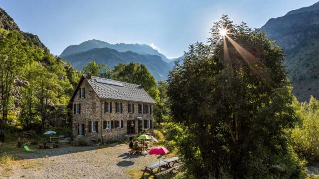 Vallée du Valgaudemar, Refuge du Clot ( Xavier Blanc ), altitu