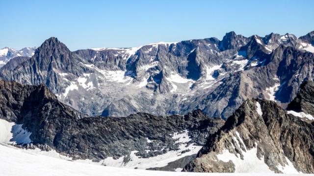 Alpinisme aux Rouies dans le Valgaudemar