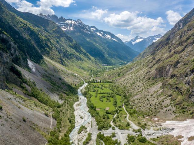 Le Gioberney la vallée du Valgaudemar dans les Hautes Alpes