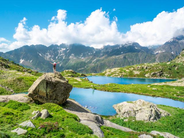 Les Lacs de Pétarel dans le Valgaudemar