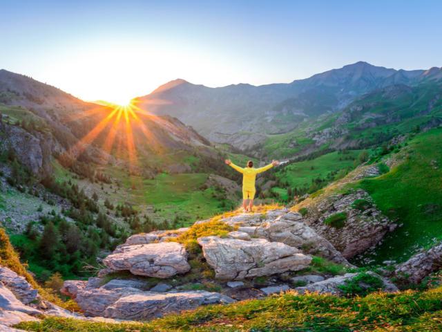 Lever de soleil sur le Champsaur