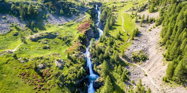 cascade du Saut du Laire à Prapic
