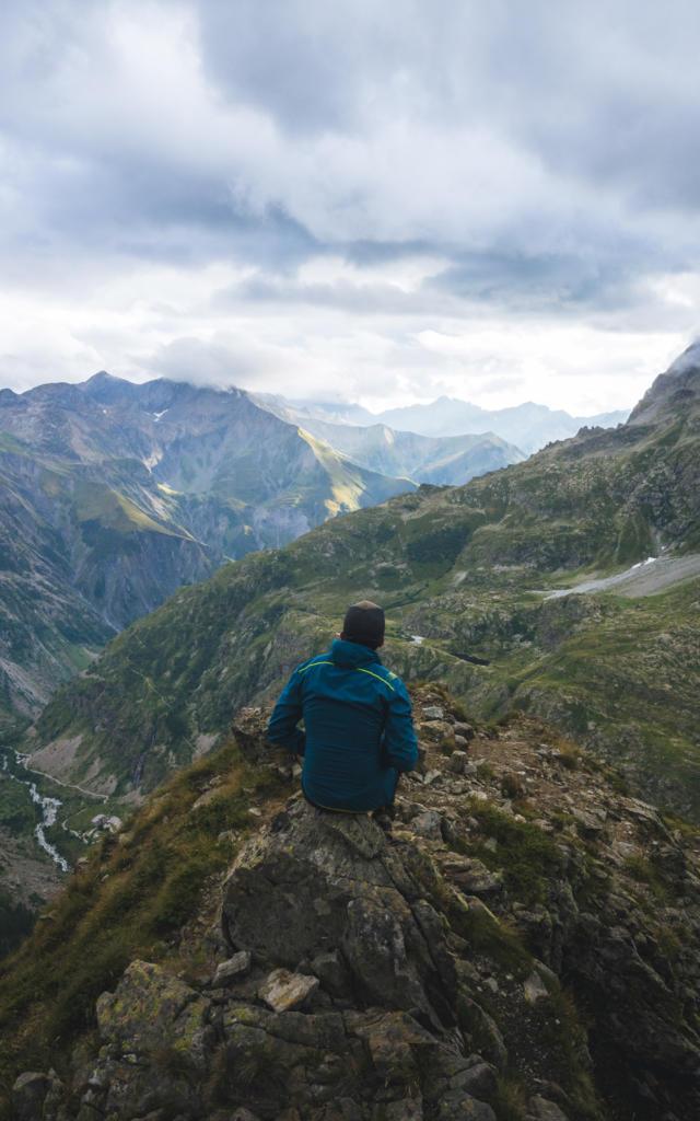 Randonnée Champsaur Valgaudemar près du refuge du Pigeonnier