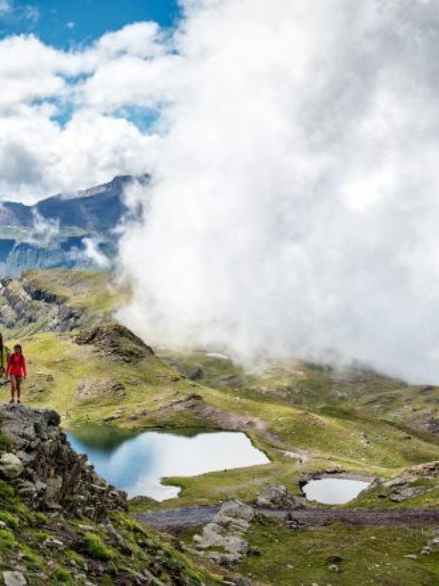 Randonnée aux lacs d'Orcières