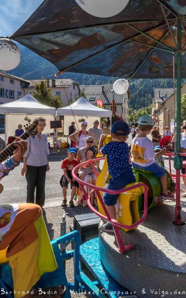 Festival L'Echo des mots 2017 à Pont du Fossé St Jean St Nicolas