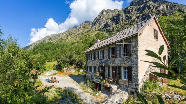 Refuge du Clot - Xavier Blanc dans le Valgaudemar