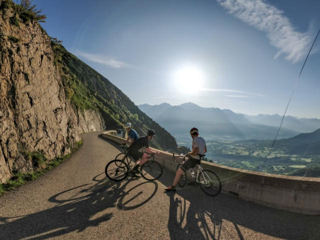 Vélo de route dans le Champsaur