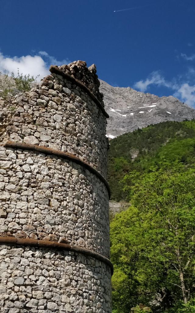 Chateau de Lesdiguières au Glaizil dans le Champsaur