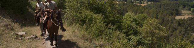 Randonnée Équestre sur le Canal de Malcros