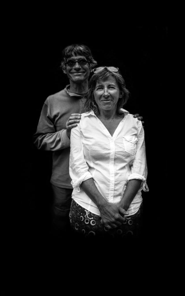 Olivier et sa femme gardiens du refuge du Pigeonnier dans le Valgaudemar