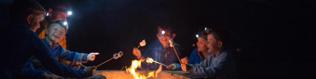 Soirée au coin du feu au plateau de la Coche