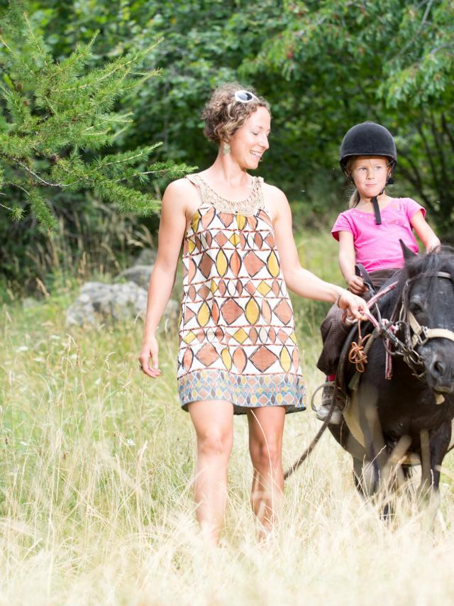 Equitation en champsaur