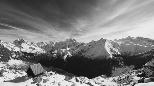 Vue sur le Valgaudemar