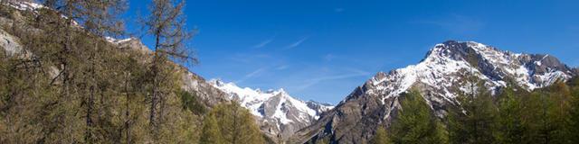 Vallée de Champoléon depuis le plateau de la Coche