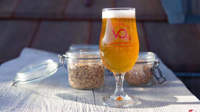 Bière à la Brasserie d'Ancelle