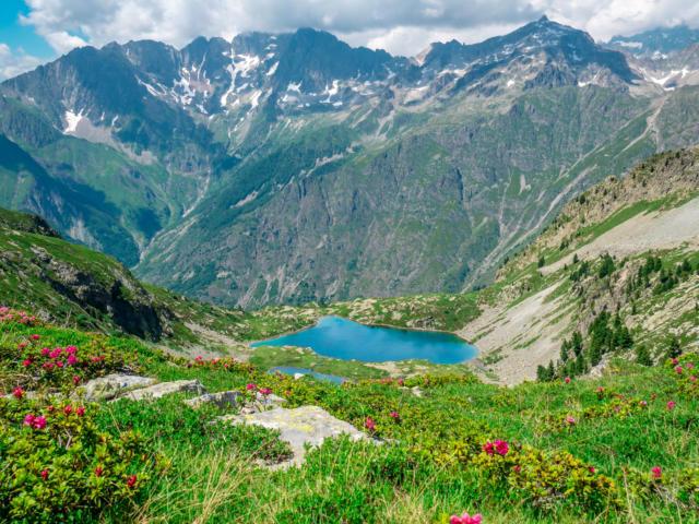 Randonnée au lac de Pétarel dans le Valgaudemar