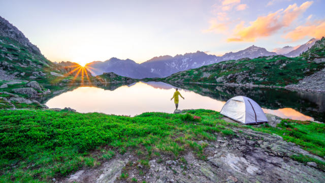 Lac de Pétarel Valgaudemar