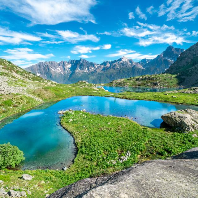 Lacs de Pétarel dans le Valgaudemar