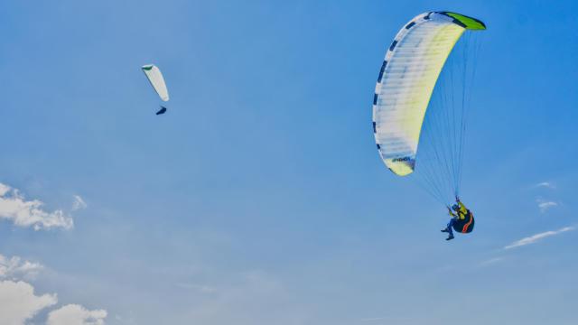 Vol de parapente à Orcières dans le Champsaur