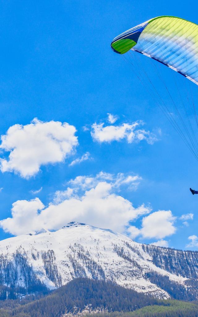 Vol en parapente dans le Haute Champsaur