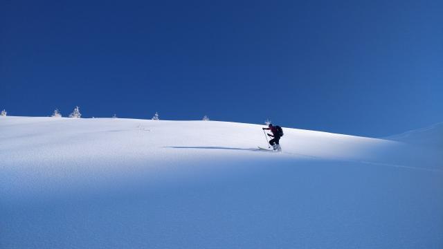 Ski de randonnée à Gleize