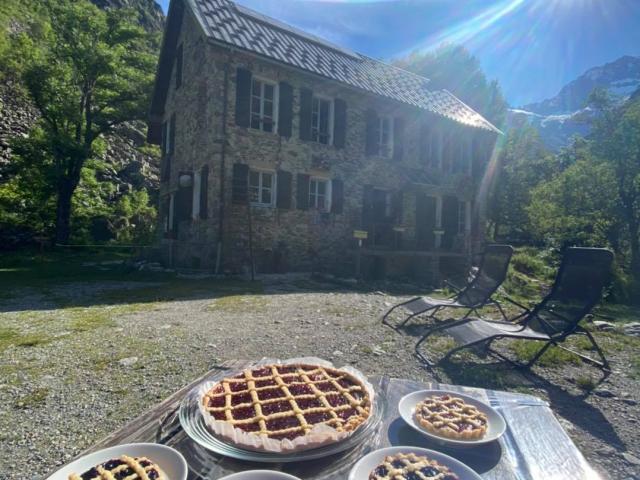 Tartelette maison au refuge Xavier Blanc