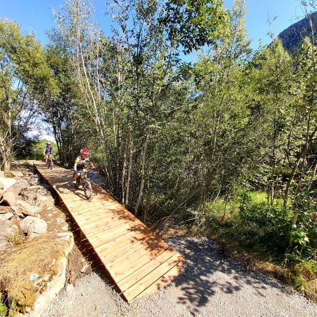 N Levoyer Aménagement Sentier Vtt Pont Du Fossé 1