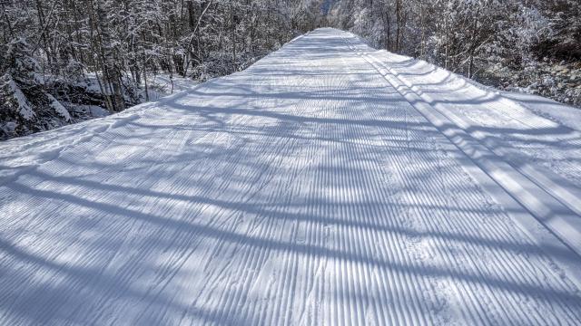 ski de fond dans le valgaudemar