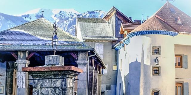 Bourg médiévale de St Bonnet en Champsaur