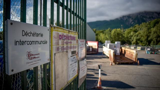 Déchetterie Champsaur Valgaudemar