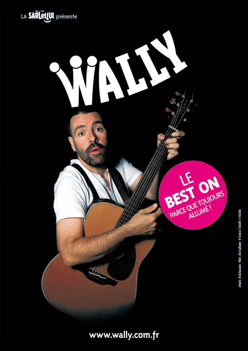 Affiche spectacle Wally