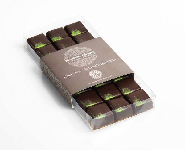 Chocolat Chartreuse Verte Sandrine Chappaz