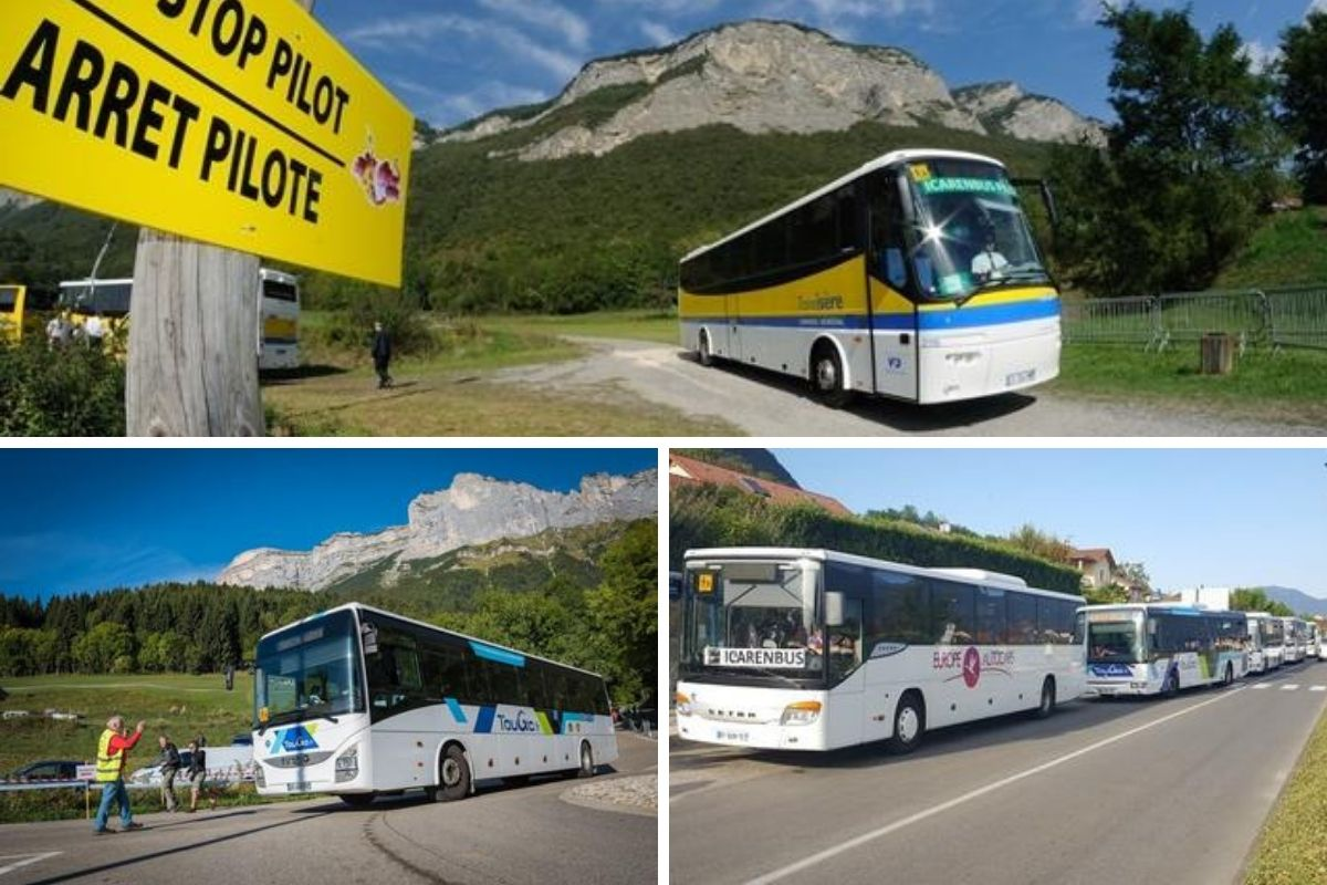 Transports bus Coupe Icare 2019
