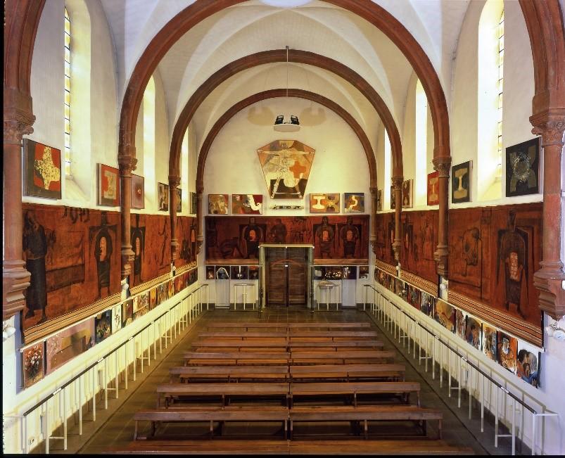 Intérieur Eglise St Hugues