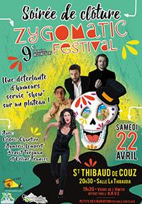 Plateau d'humour au Zygomatic Festival 2017