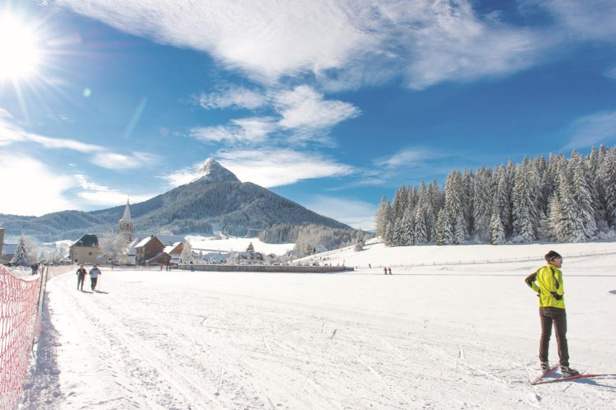 Ski nordique St Hugues