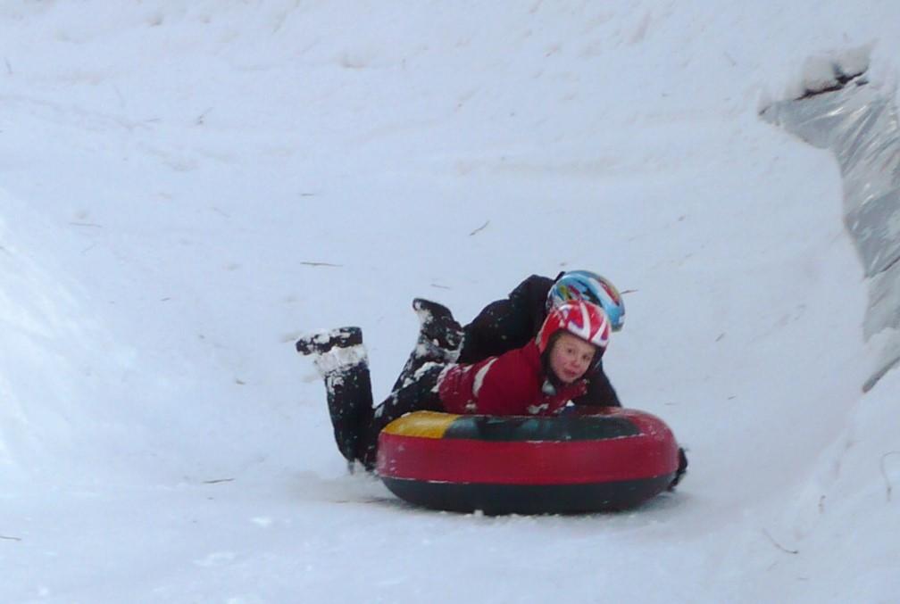 Snow tubing Col de Marcieu