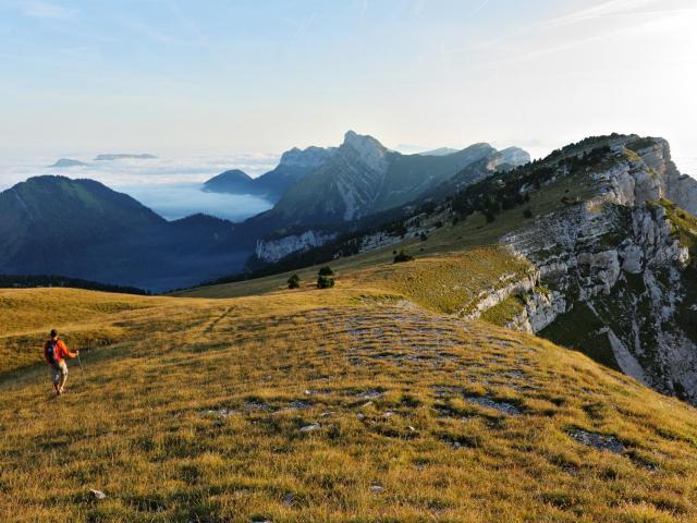 Sur Le Plateau Et Les Cretes De La Dent De Crolles
