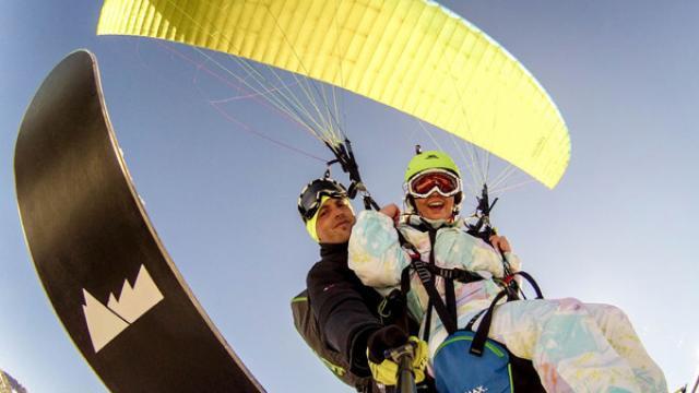 Biplace Parapente Fabrique Ski Volez 600 400
