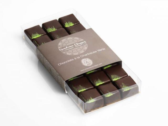Chocolat Ganache Chartreuse Verte