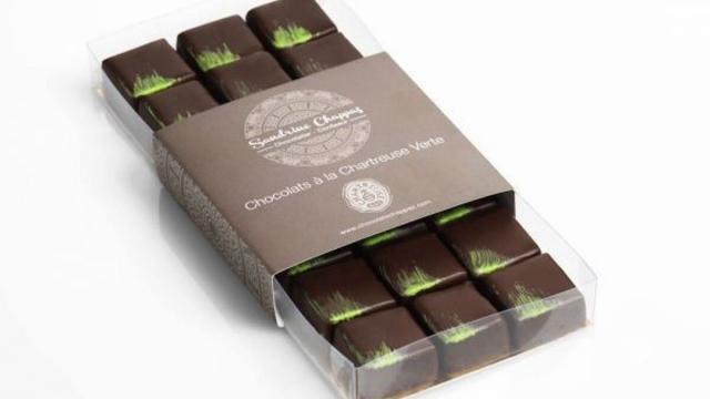 Chocolats Liqueur Verte, Sandrine Chappaz