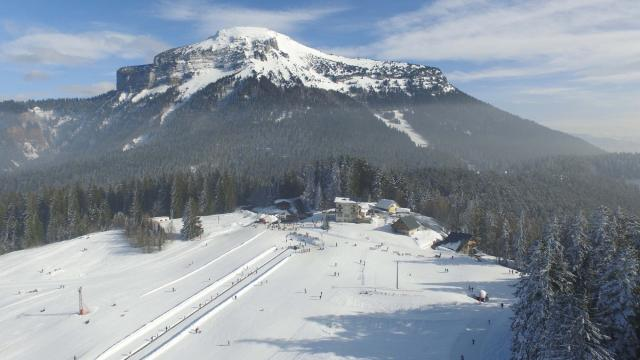 Station Ski Alpin Col De Porte Chartreuse