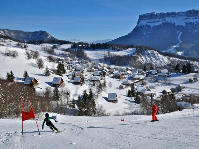 Ski Alpin En Chartreuse Au Désert D'entremont