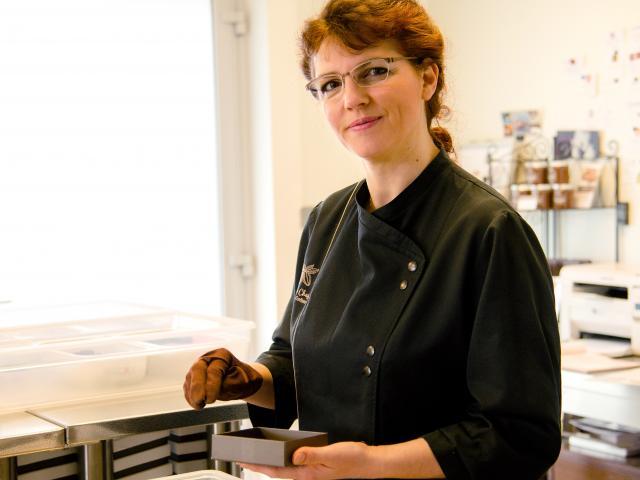 Sandrine Chappaz, chocolatier-confiseur d'exception