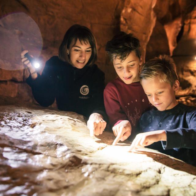 Visite Chartreuse, Grottes Saint Christophe